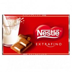Chocolate Nestle Chocolate Rojo 100 paquetes