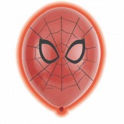 5 Globos Led De Spiderman