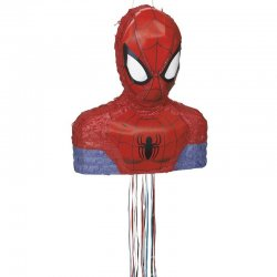 1 Piñata De Silueta De Spiderman 3D