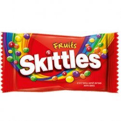 Caramelos Skittles Fruits 14 paquetes