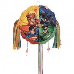 1 Piñata Redonda De La Liga De La Justicia