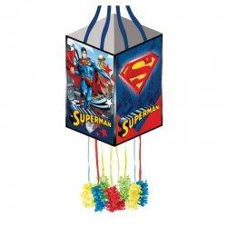 1 Piñata De Superman Cuadrada