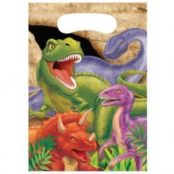 8 Bolsas De Dinosaurios