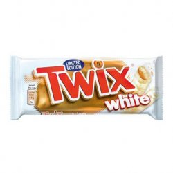 Chocolate Barrita White Twix 32 paquetes
