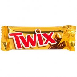 Chocolate Barrita Twix 25 paquetes