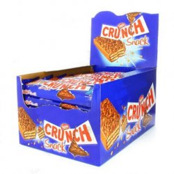 Chocolate Snack Crunch Nestle 30 paquetes