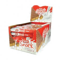 Chocolate Snack Leche Nestle 30 paquetes