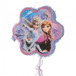 1 Piñata De Frozen De Reino Del Hielo