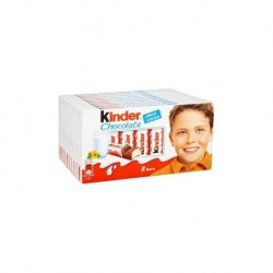 Kinder Chocolate 10 paquetes