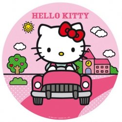 Oblea de Hello Kitty 16 cm