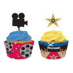 1 Kit Cupcakes De Reel Hollywood