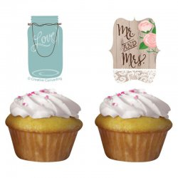 1 Kit Cupcakes De Rustic Wedding