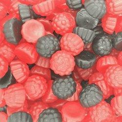 chuches moras negras y rojas