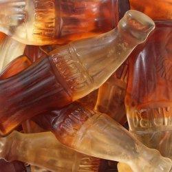 Botellas coca cola grandes Haribo