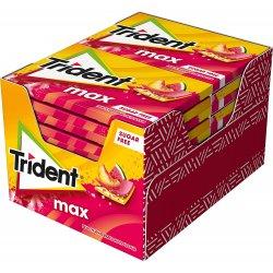 Chicles Trident Maxii Sandía y Melocotón 12 paquetes