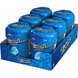 Chicles Trident Bote Menta