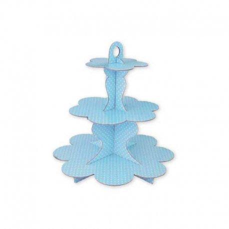 Stand de Lunares para Cupcake