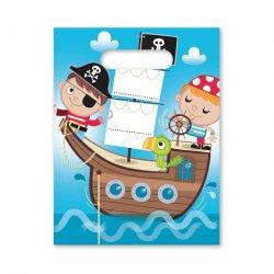 6 Bolsitas Pirata Infantil