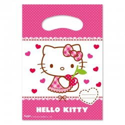 6 Bolsas Hello Kitty