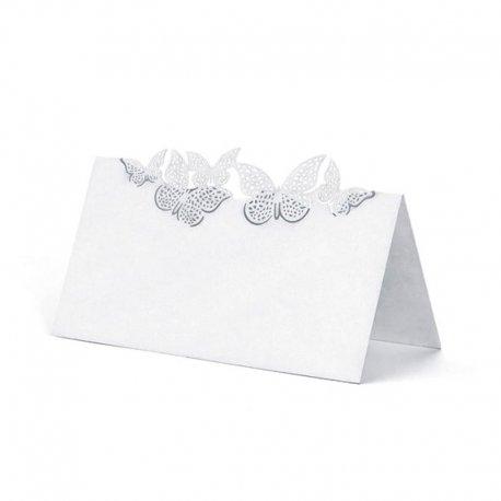 10 Tarjetas Forma Mariposas