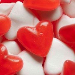 Bolsa de gomitas de corazón