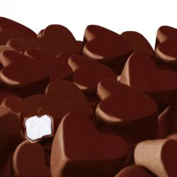 Corazones Chocolate Fini