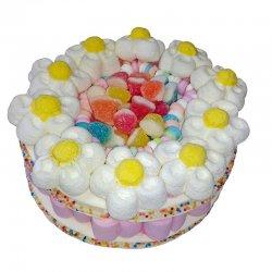 Pastel de Chucherías Flores 350 grs