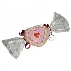 Tarta de Chucherías Corazón 100 grs