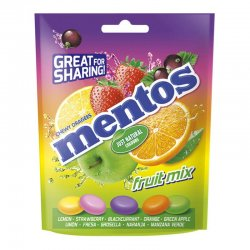 Caramelos Mentos Fruit Mix 7 paquetes