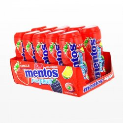 Chicles Mentos Frutas Silvestres 10 paquetes