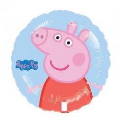 1 Globo De Peppa Pig Foil Redondo