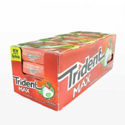 Chicles Trident Max de Fresa 16 paquetes