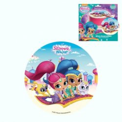 1 Disco Comestible Shimmer and Shine