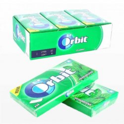 Chicles Orbit de Hierbabuena Tabs 12 paquetes