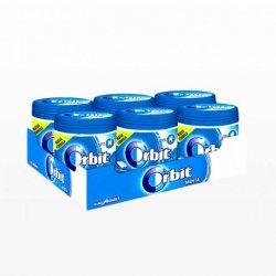 Chicles Orbit Bote de Peppermint 6 paquetes