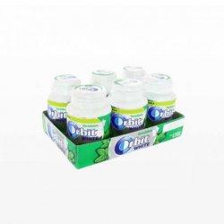 Chicles Orbit Bote White de Hierbabuena 6 paquetes