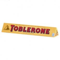 Chocolate Toblerone Choco Leche 20 paquetes