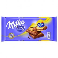 Milka Sandwich Tuc 18 paquetes